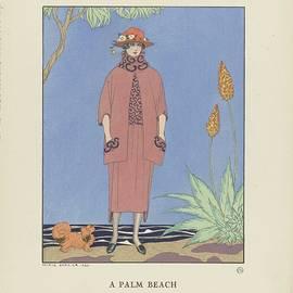 George Barbier - Bon Ton Gazette, 1921 - No. 5, Pl. 40 A Palm Beach  Tailor, of Worth, George Barbier, 1921