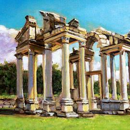 Bones of a Turkish Temple by David Zimmerman