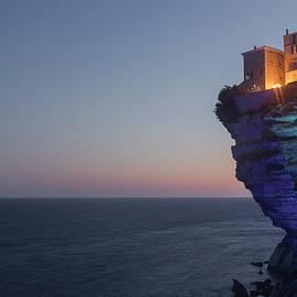 Bonifacio at night  - Corsica - Joana Kruse