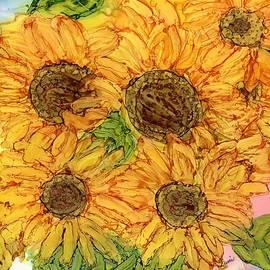 Bouquet  of Sunflowers by Eunice Warfel