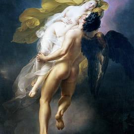 Joseph-Ferdinand Lancrenon - Boreas abducting Oreithyia