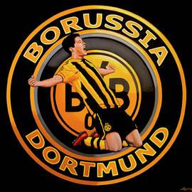 Paul Meijering - Borussia Dortmund Painting