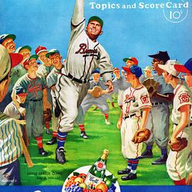 Boston Braves 1952 Score Card by John Farr