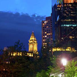 Joann Vitali - Boston Cityscape - Marriott Custom House