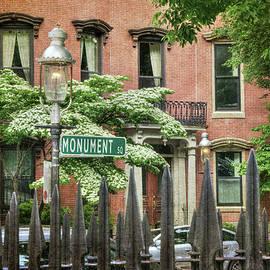 Boston Colonial Scenes - Charlestown by Joann Vitali