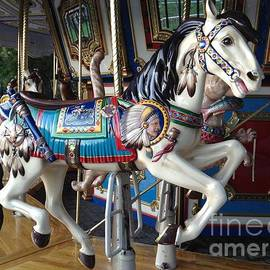 Gina Sullivan - Boston Common Carousel Horse