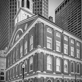 BOSTON Faneuil Hall - Monochrome - Melanie Viola