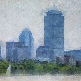 Boston from the Charles by George Pennington