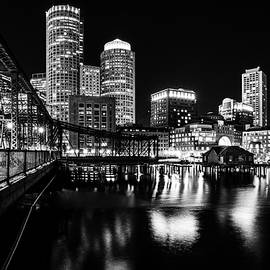 Kristen Wilkinson - Boston Harbor and The Old Northern Avenue Bridge