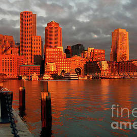 Jim Beckwith - Boston Harbor First Light