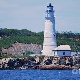Marcus Dagan - Boston Harbor Lighthouse On Little Brewster Island