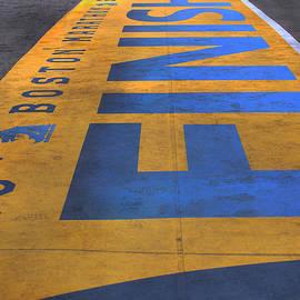 Joann Vitali - Boston Marathon Finish Line