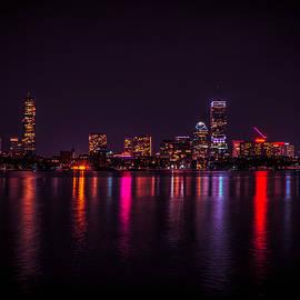 Lilia D - Boston night reflections
