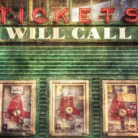 Joann Vitali - Boston Red Sox Fenway Park Ticket Booth