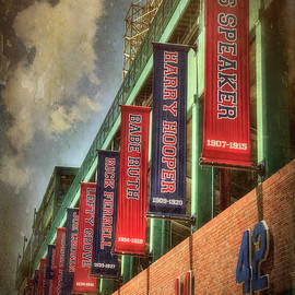 Joann Vitali - Boston Red Sox Retired Numbers - Fenway Park