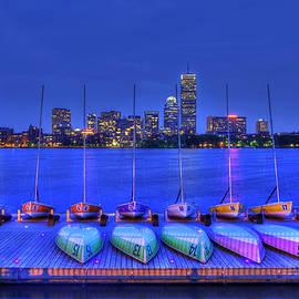 Joann Vitali - Boston Skyline from MIT Sailing Pavilion