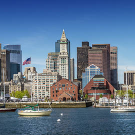 BOSTON Skyline North End and Financial District - Melanie Viola