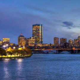 Joann Vitali - Boston Skyline Twilight over Back Bay
