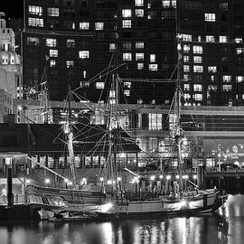 Frozen in Time Fine Art Photography - Bostonian Black and White