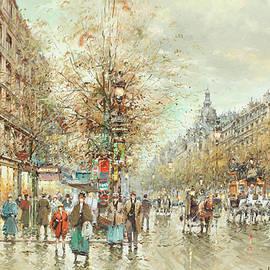 Boulevard of Italians - Antoine Blanchard