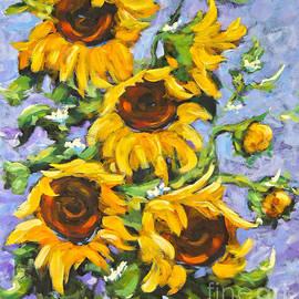Richard T Pranke - Bouquet Del Sol Sunflowers