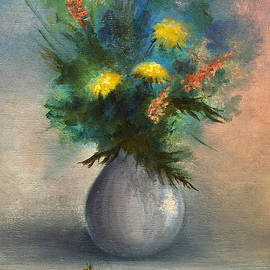 Bouquet in Vase by Teresa Ascone