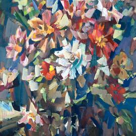 Bouquet Near The Window by Nikolay Malafeev