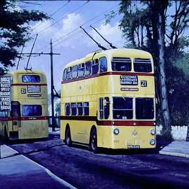 Bournemouth trolley-bus. - Mike Jeffries