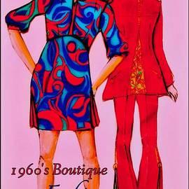 Joan-Violet Stretch - Boutique Fashion 1966