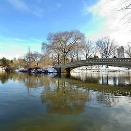 Kurt Von Dietsch - Bow Bridge in Winter