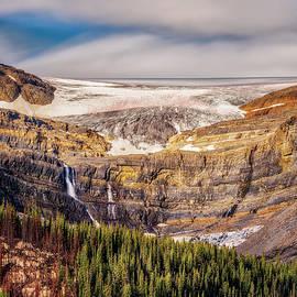 Yves Gagnon - Bow Lake and Bow Falls Banff National Park