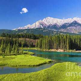 Bow River Overlook by Norma Brandsberg