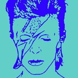 Enki Art - Bowie Blue 73