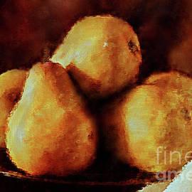 KaFra Art - Bowl of Bosc Pears