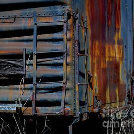 Boxcar Detail by Douglas Stucky