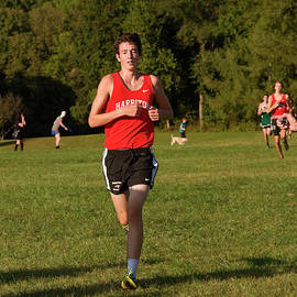 Sally Weigand - Boy Running Cross Country