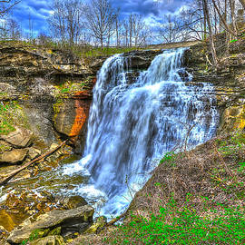 Brandywine Falls by Don Mercer