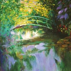 Madeleine Holzberg - Bridge at Giverny