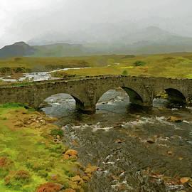 Bridge at Sligachan, Isle of Skye by Brian Shaw