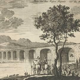 Jan Luyken - Bridge of Emperor Trajan on the Danube, Jan Luyken, 1682