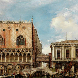 Edward William Cooke - Bridge of Sighs, Venice