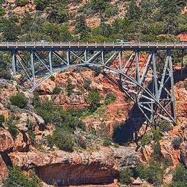 Bridge Over Oak Creek by AJ Schibig