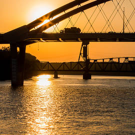 Bridge Sunrise 1 by Patti Deters