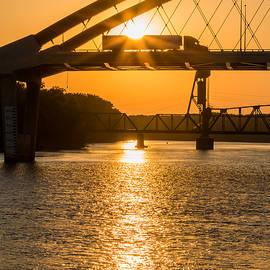 Bridge Sunrise #2 by Patti Deters