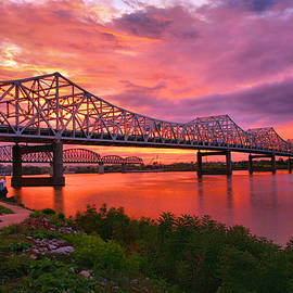 Bridges At Sunrise II by Steven Ainsworth