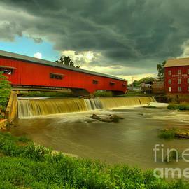 Adam Jewell - Bridgeton Indiana Grist Mill Summer Storms