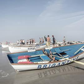 Brigantine Boats by Sean Sweeney