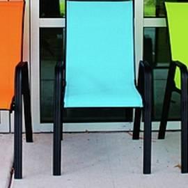 Cynthia Guinn - Bright And Bold Chairs