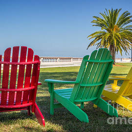Bright Colors on a Bright Day by Liesl Walsh