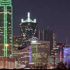 Skyline Photos of America - Bright Dallas Lights